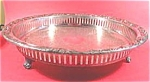 Silverplate - EALES Tray - Floral and Scroll Border