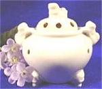 Incense Burner - Pot Style Censer - Fu Dogs