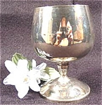 Click here to enlarge image and see more about item AAA74: Silver Plate Cordial Wine - Spain