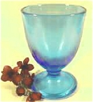 Click here to enlarge image and see more about item AAA819: Celeste Blue Fenton Art Glass Candy  - 1924