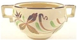 Click to view larger image of Grays Pottery Sunbuff Sugar Bowl (Image1)