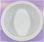 Click here to enlarge image and see more about item AAA849: Fiesta Periwinkle Serving Bowl - Post 1986
