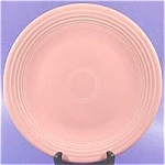 Click here to enlarge image and see more about item AAA851: Fiesta Dinner Plate - Pink - Post 1986