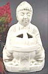 Click here to enlarge image and see more about item AAA879: Buddah Incense Burner ~ Japan