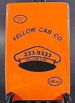 Click here to enlarge image and see more about item AAA893: Yellow Cab Company Playing Cards ~ New Old Stock