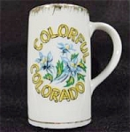 Click to view larger image of Shot Glass ~ Colorado ~ Porcelain Mug (Image1)