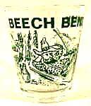 Click here to enlarge image and see more about item AAA965: Beech Bend Park Shot Glass