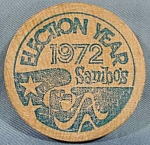Click here to enlarge image and see more about item B182: Sambos Restaurant Token ~ 10 Cent Coffee - 1972