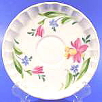 Click here to enlarge image and see more about item B23: Bolero Floral Saucers - W. S. George