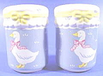 Click here to enlarge image and see more about item B452: Kitchen Collectibles ~ Country Kitchen Shakers ~ Geese