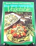 Click here to enlarge image and see more about item B509: Cook Book - Vegetable Recipes - Better Homes & Gardens