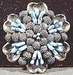 Costume - Early Plastic Brooch Pin