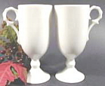 Click here to enlarge image and see more about item B56: Barware ~ Hot Buttered Rum Goblets ~ Pair