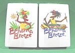 Click here to enlarge image and see more about item B583: Playing Cards ~ Bahama Breeze Double Deck