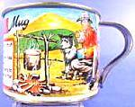 Click here to enlarge image and see more about item B60: Australian Billy Tea Mug with Recipe