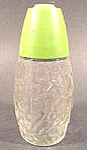 Click here to enlarge image and see more about item B611: Kitchen Collectibles ~ Sugar Shaker ~ Green Cap