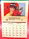 Click here to enlarge image and see more about item B655: Advertising - Calendar - 1969 The National Bank