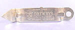 Click here to enlarge image and see more about item B664: Opener ~ Drewrys Extra Dry Beer