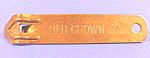 Click here to enlarge image and see more about item B667: Opener ~ Old Crown Ale ~ Copper