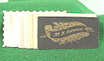 Click here to enlarge image and see more about item B680: Ephemera ~ Calling Cards ~ Assorted 1 Dozen ~ Victorian