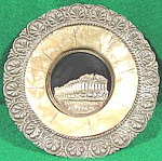 Click here to enlarge image and see more about item B6: Antique Placque - Parthenon Athenes