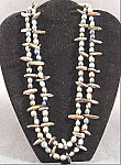 Click to view larger image of Indian Seed Rope Necklace - Vintage - 50 inches (Image1)