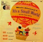 Click here to enlarge image and see more about item B746: Children's Book ~ It's A Small World ~ Disney #323