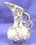 Miniature Weeping Silver Pitcher Vase