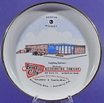 Click here to enlarge image and see more about item B815: Advertising Ashtray ~ Bluff City Distributing Company