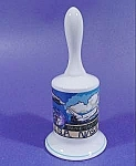 Click here to enlarge image and see more about item B819: Bell ~ NASA Spaceport USA ~ 1987 ~ Spacecraft