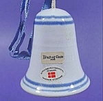 Click here to enlarge image and see more about item B821: Bell ~ Stoneware ~ Denmark