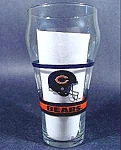 Click here to enlarge image and see more about item B855: Bears NFL Glass ~ Coca-Cola