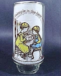 Click here to enlarge image and see more about item B861: Holly Hobbie 1983 Limited Edition Glass