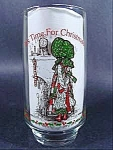 Click here to enlarge image and see more about item B862: Holly Hobbie Limited Edition Coca-Cola Glass ~ 1983