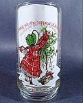 Click here to enlarge image and see more about item B863: Holly Hobbie Limited Edition 1982 Glass ~ Coca-Cola