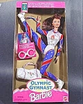 Click here to enlarge image and see more about item B869: Barbie Doll - 1996 Olympic Gymnast with Gold Medal