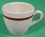 Click here to enlarge image and see more about item B883: Salesman Sample Cup ~ Restaurant Ware ~ Vintage