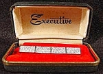 Click here to enlarge image and see more about item B921s: Executive Brand Silvertone Tie Clasp - Vintage