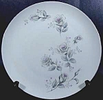 Click here to enlarge image and see more about item B942: Dinner Plate - Rose Pattern