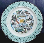 Click here to enlarge image and see more about item B943: Oregon State Collector Plate - Vintage