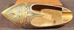 Brass Slipper Shoe Ashtray