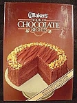 Click here to enlarge image and see more about item B977: Books ~ Cook Book ~ Bakers Book of Chocolate Riches