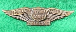 Click here to enlarge image and see more about item B999s: Flying Cadet Wing Pin ~ Jimmie Allen ~ 1933-43