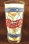 Click here to enlarge image and see more about item C106: Pepsi-Cola Promotional Glass - Advertising - 1970s
