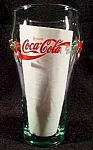 Click here to enlarge image and see more about item C123: Coca-Cola Holiday Christmas Glass