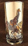 African Safari Wildlife Park Souvenir Glass