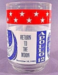 Apollo Mission Series Glass - Apollo 12 - 1969