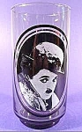 Click here to enlarge image and see more about item C163: Actor Charlie Chaplin Glass - Arby's Collector Series