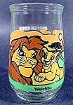 Click here to enlarge image and see more about item C195: Lion King Glass - Simba's Pride - Welch's