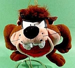 Click here to enlarge image and see more about item C209: TAZ Plush Doll - Warner Bros. 1995